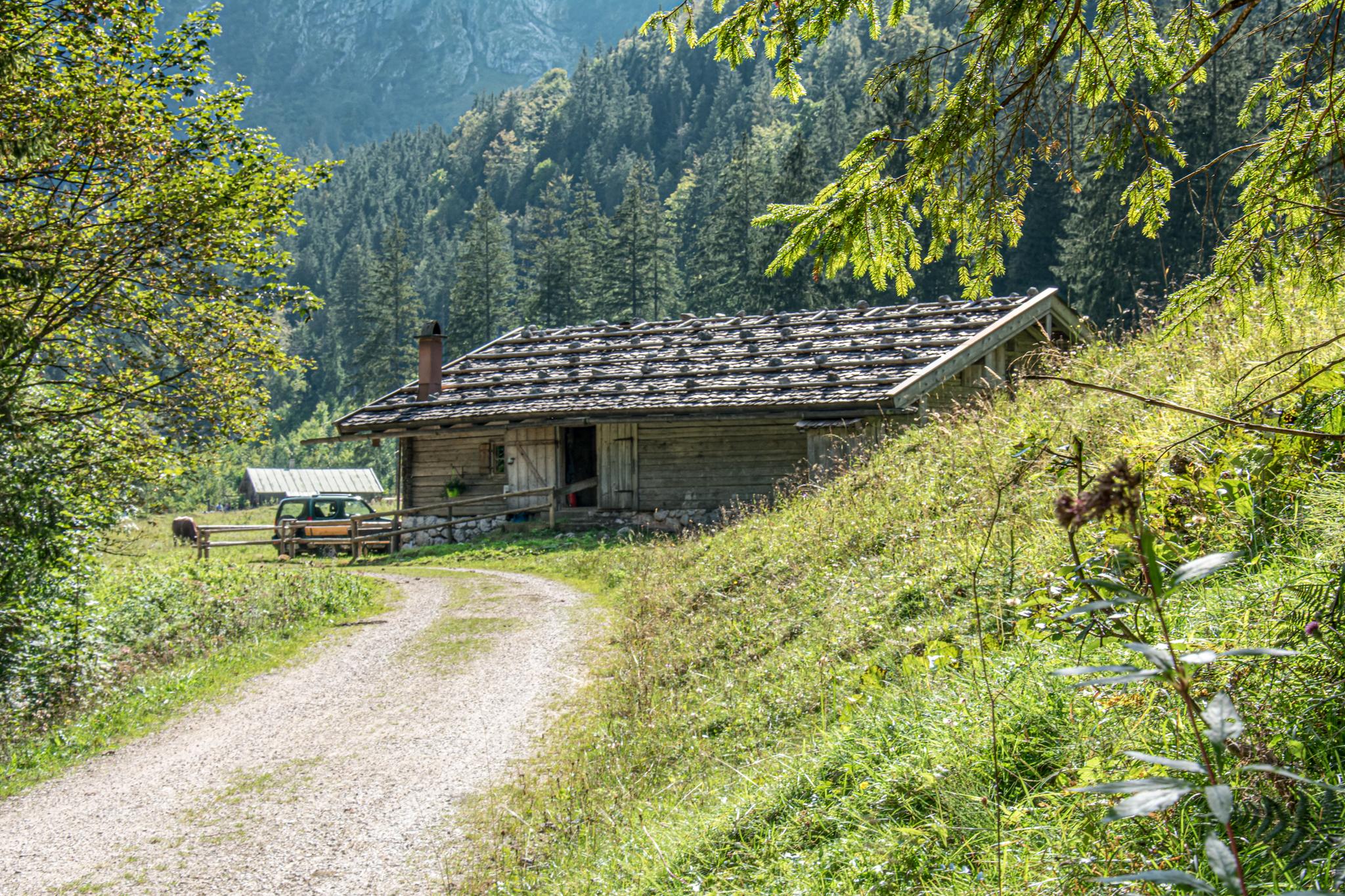 Kaser auf der Schwarzbachalm