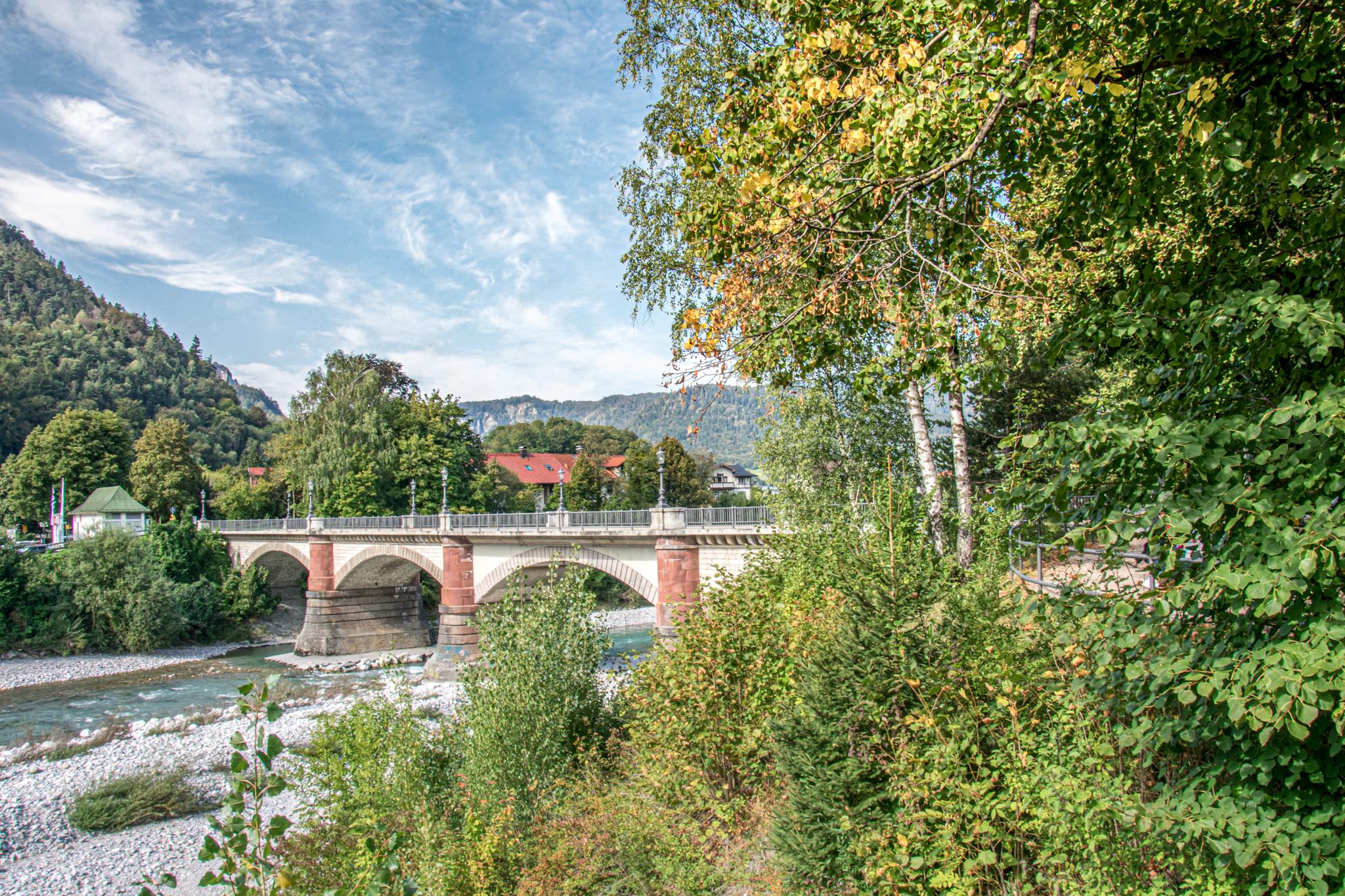 Luitpoldbrücke Bad Reichenhall
