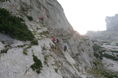 Bergwacht Ausbildung am Blaueis