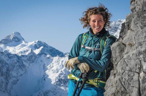Bergführerin Nina Schlesener