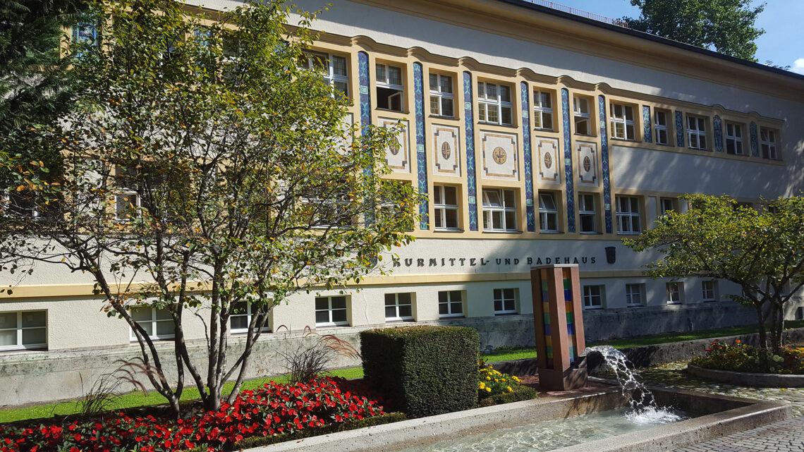 Das Kurmittelhaus der Moderne in Bad Reichenhall