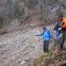 Nationalpark-Mitarbeiter Christian Heyer, Markus Lochner und Lorenz Köppl (v.r.) begutachteten die Georisiken auf Basis der so genannten RAGNAR-Methode aus dem alpinen Sicherheitsmanagement
