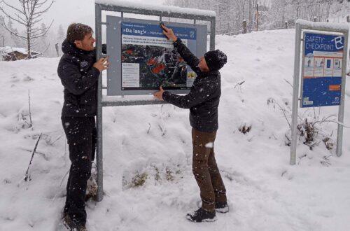 Neue Beschilderung im Nationalpark Berchtesgaden