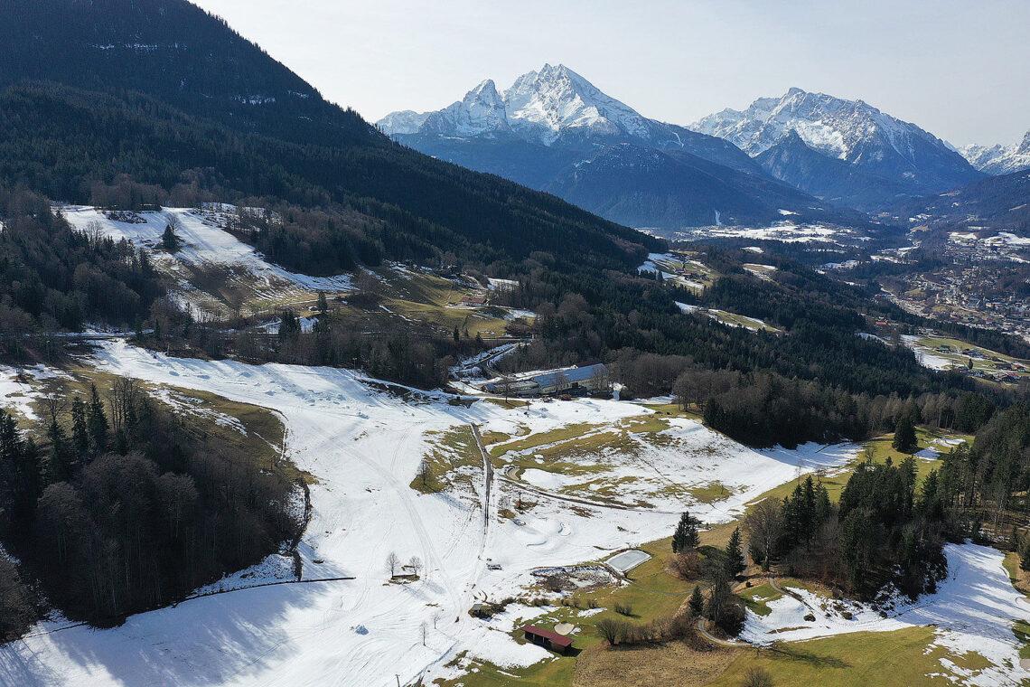 Das Skigebiet Obersalzberg