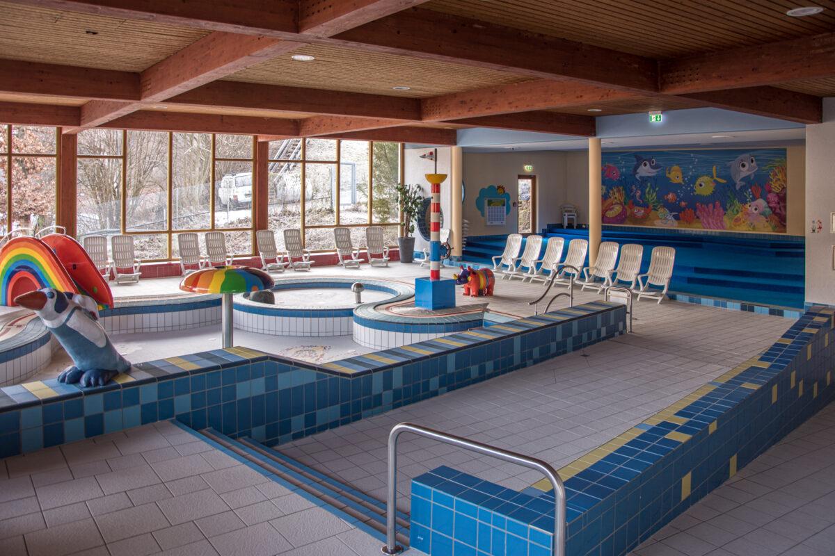 Der Kinderbereich in der Watzmann Therme