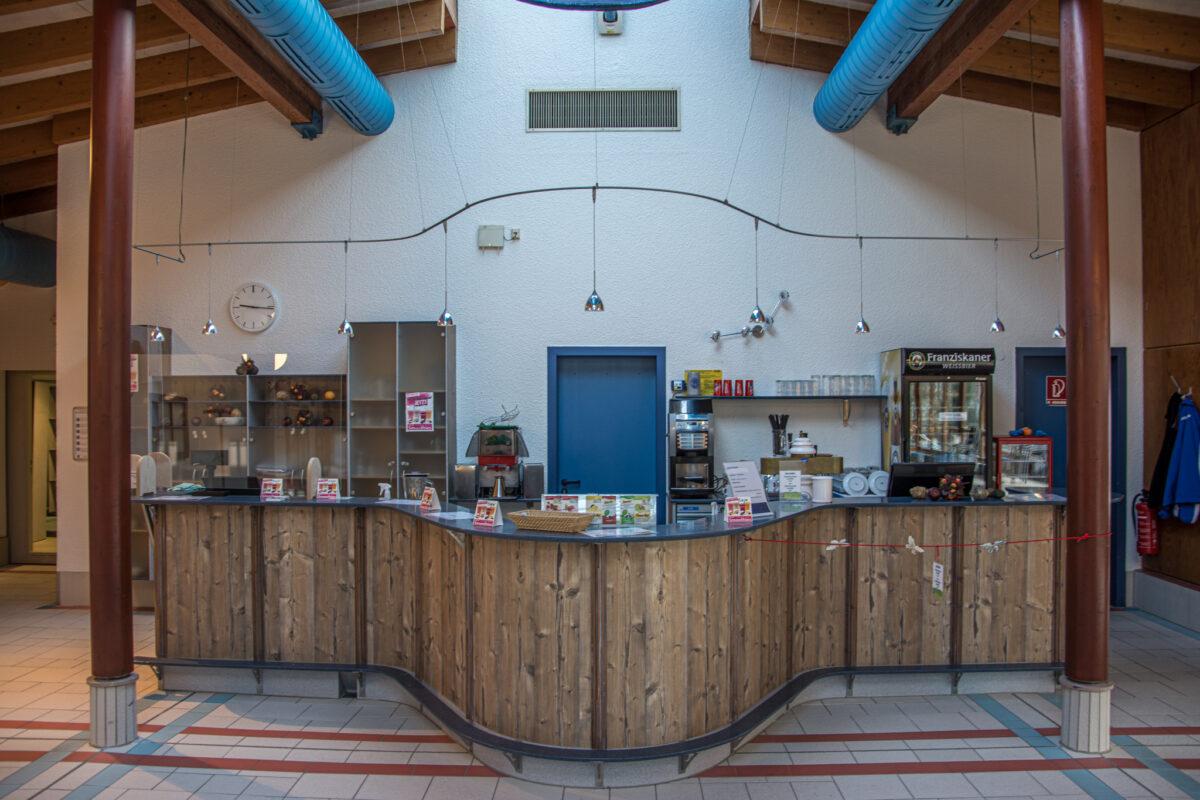 Die Bar im Saunbabereich der Watzmann Therme