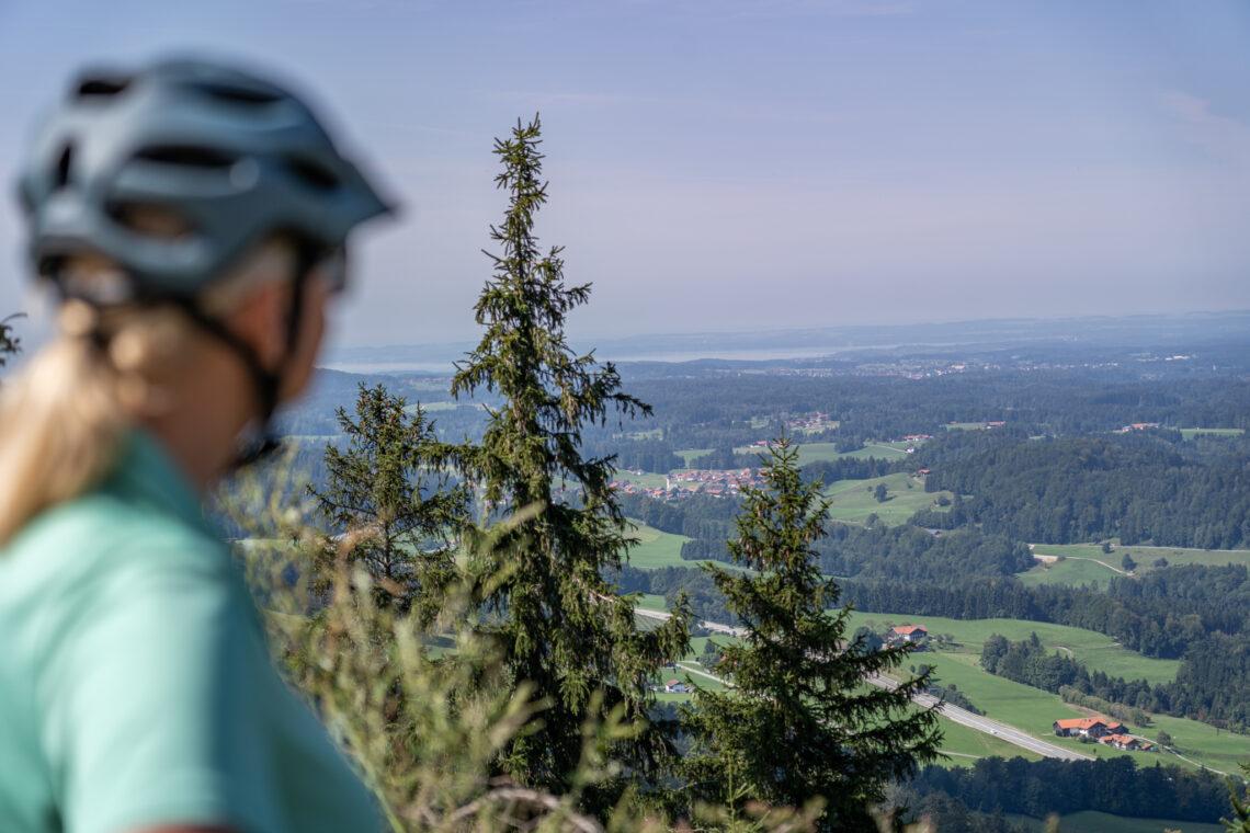 Ausblick in den Chiemgau